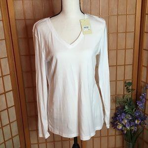 Bass White Long Sleeve Shirt
